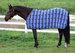 EOUS Plaid Fleece Horse Cooler